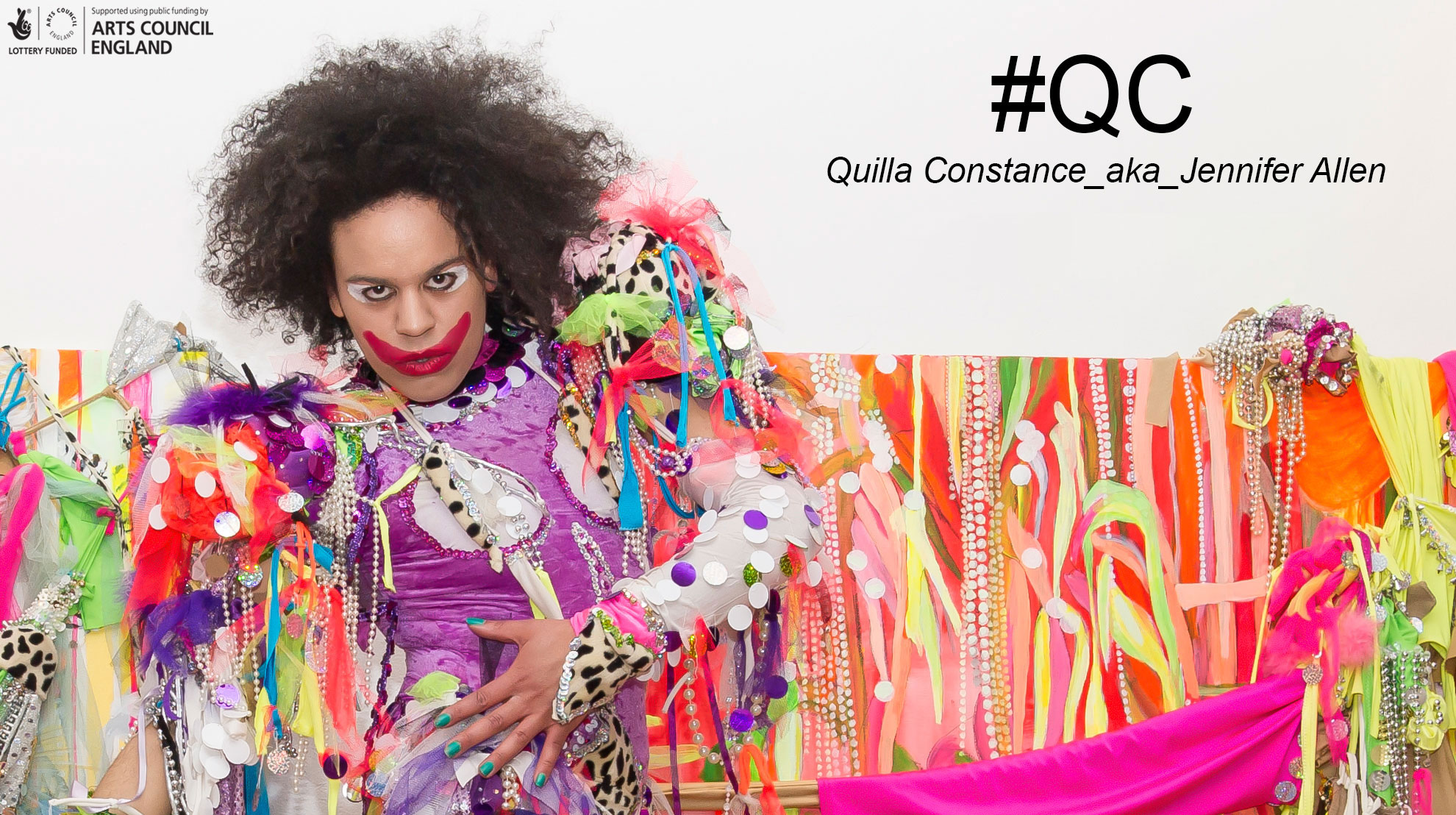 #QC Quilla Constance _aka_ Jennifer Allen @St John's College Oxford 23 March - 16 April